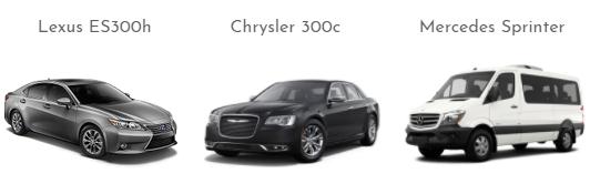 Lexus Chrysler and Mercedes Sprinter