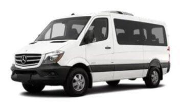 shuttle bus or shuttle van
